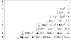 Ortogonal Polynomials